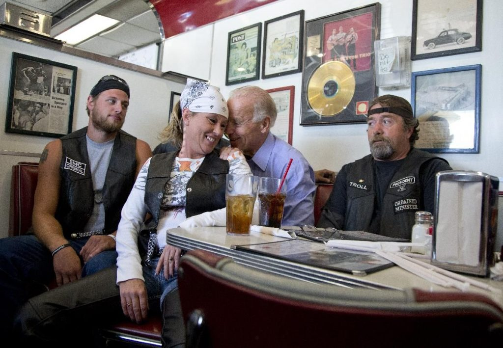 Political Leaders - Joe Biden Joined A Biker Club