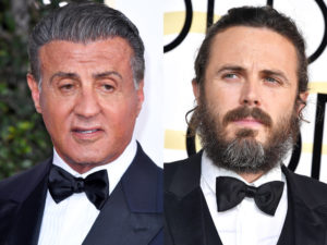 Sylvester Stallone And Casey Affleck Clash After Golden Globes Seating Snafu