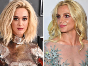 Katy Perry Throws Some Shade At Britney Spears While At The Grammys